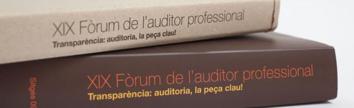 XIX Fòrum de l'Auditor 2009